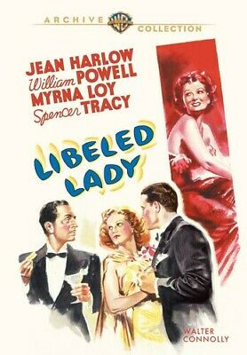 Libeled Lady [New DVD] Manufactured On Demand, Full Frame