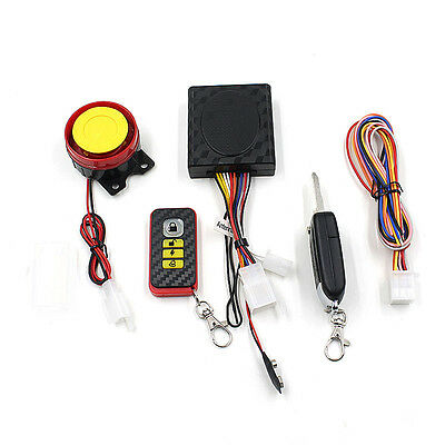 Bike Motorcycle Security Alarm System Immobiliser Remote Control Engine DE