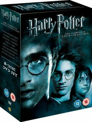 Harry Potter - Complete 8-Film Collection [DVD] [2001] - DVD  WGVG The Cheap