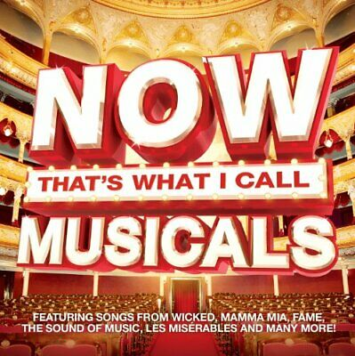 Various Artists - Now That's What I Call Musicals - Various Artists CD KAVG The
