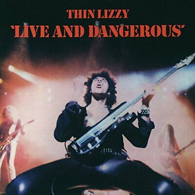Thin Lizzy - Live And Dangerous - Thin Lizzy CD FJVG The Cheap Fast Free Post