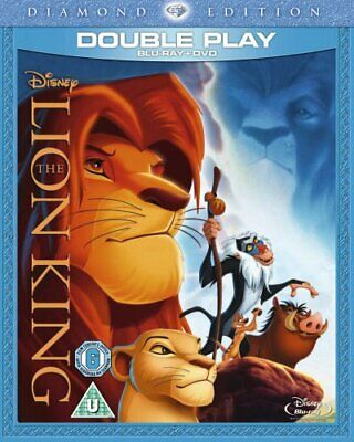 The Lion King (Diamond Edition) [Blu-ray + DVD] [Region Free] - DVD  KEVG The