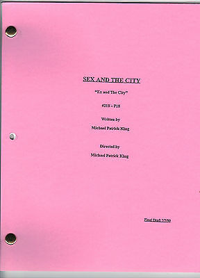 """SEX AND THE CITY show script """"Ex and The City"""""""
