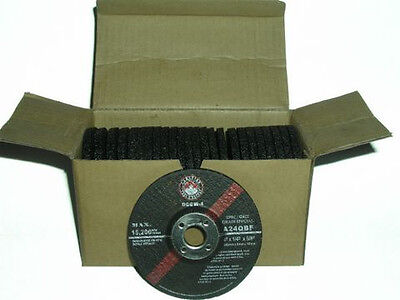 "FREE SHIPPING CANADA - 4"" (100mm) Grinding Wheels angle Grinder (25 Discs) mig"