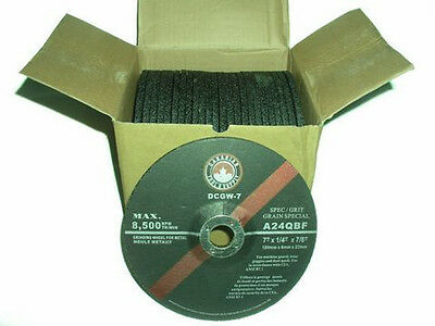 "FREE SHIPPING CANADA - 7"" (180mm) Grinding Wheels  Angle Grinder (25 Discs) mig"