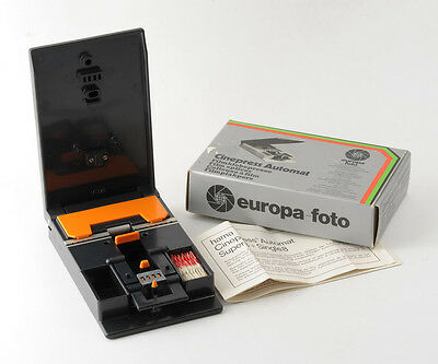 Hama Cinepress Automat Film Splicer Super 8mm and Single 8mm Boxed  Instructions