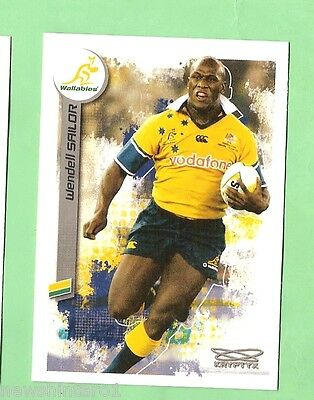 2003  Wendell Sailor, Australian Wallabies,  Rugby Union Card  #100