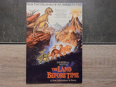 Carte Postale Film Affiche Cinéma - THE LAND BEFORE TIME