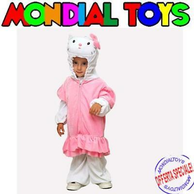 Costume Carnevale Baby Dolce Kitty Tg 0 Cod. 0628