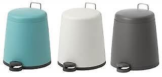 IKEA Snapp 5L Bathroom Home Office Pedal Bin Various Colours New
