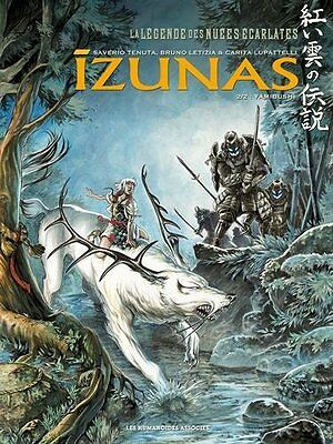 La Legende des Nuees Ecarlates Izunas Tome 2, Yamibushi 48 pages Broche Book