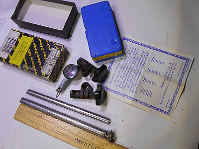 Brown & Sharpe 7029-5 Bestest.001 Measuring Indicator And Holding Bar Swiss Made