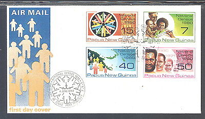 Papua New Guinea Airmail FDC National Census 1980