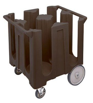 Cambro DISH CART CADDY DC1225131 BROWN FIXED  to 12-1/4 '' Storage Transport