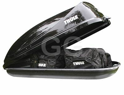 Thule Ocean 80 Car Roof Top Box 320 Litre Gloss Black LEICESTER