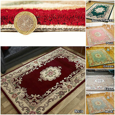 Small Extra Large Big Soft Elegant Classic Traditional Thick Area Lotus Rug Sale