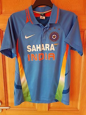 India Official Nike  Cricket Shirt Size Adult Small