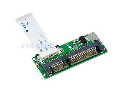 1.8 Inch ZIF CE SSD HDD to 7+15 Pin SATA Adapter Converter with Flex FFC Cable