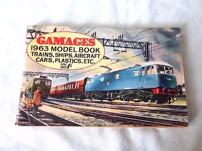 Gamages 1963 Model Railway & Toy Catalogue in Good Complete Condition