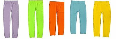 KIDS' BASIC SOLID COLOUR LEGGINGS (Wholesale Lots of 60)