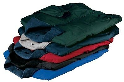 2 Brand New Classic Nylon Jackets 5-6XLT Embroidered 4Ur Co W BackDesign &UrName
