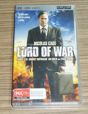 Sony Playstation Portable PSP UMD Movie - Lord Of War