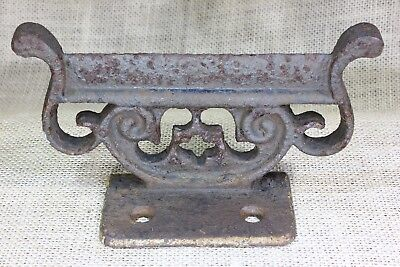 "old Boot Shoe scraper foot scrape rustic iron farm house 6 1/4"" splatter paint"