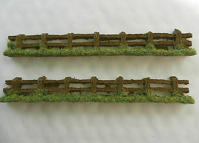 Rough Country Fencing Japf1 ~ Scenery For Model Rail Oo / Ho Scale, Brand New