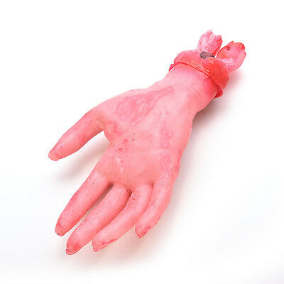 Severed Scary Cut Off Bloody Fake Latex Lifesize Arm Hand Halloween LAUS