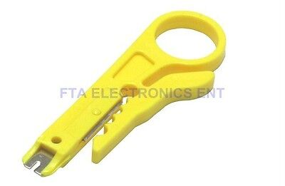RJ45 RJ11 Cat6 Cat5 Punch Down Network Phone LAN UTP Cable Cutter Wire Stripper