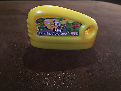 FISHER PRICE LEARNING ADVENTURE SMART CYCLE GAME cartridge KEY school bus FUN!