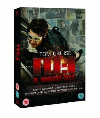 Mission Impossible: Quadrilogy (1-4 Box Set) [DVD] - DVD  3IVG The Cheap Fast