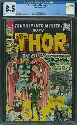 Journey Into Mystery 113 CGC 8.5 - OW/W Pages