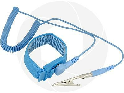 Anti Static ESD Wrist Hand Strap Discharge Band Grounding Prevent Static Shock