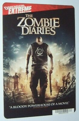 THE ZOMBIE DIARIES promo art card (this is NOT a movie)