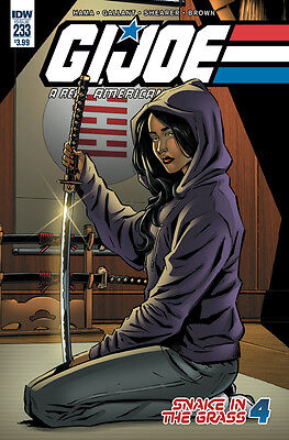 Gi Joe A Real American Hero #233 (Idw 2016 1St Print) Comic