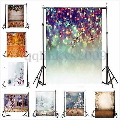 32 Types 5x7FT Vinyl Photography Backdrop Wall Scenery Studio Photo Background