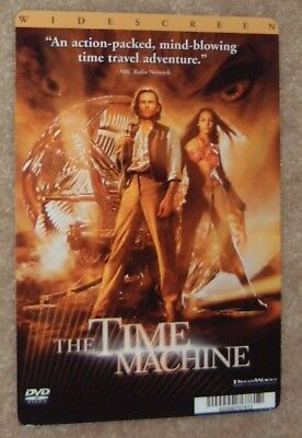 THE TIME MACHINE movie backer card GUY PEARCE this is NOT a dvd