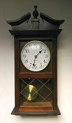 vintage Westminster Chime Wooden Pendulum Wall Clock