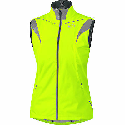 Gore Bike Wear Visibility AS Active Shell Ladies Vest Cycling