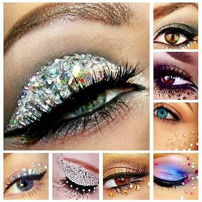 Eye Gem Kit - 1000 Rhinestones 10ml Cosmetic Glue Body Face Painting Festival