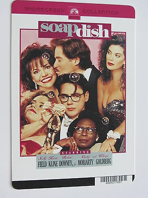 SOAPDISH movie backer art card ROBERT DOWNEY JR, SALLY FIELD not the movie