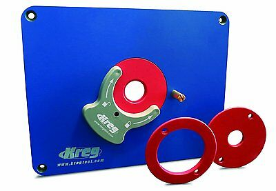 Kreg PRS3034 Predrilled Precision Router Table Insert Plate