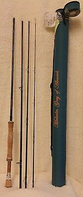 CLEARANCE: Malcolm Grey of Alnwick 4 Piece Rod 10' #8