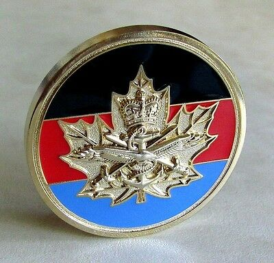Canada Canadian CIC Cadets Instructors Cadre Tri-Service Challenge Coin NEW