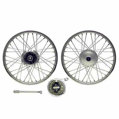 Front Wheel CG125 style drum with brake plate (Rim 1.40 x 18