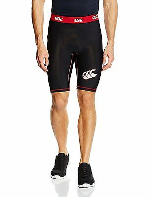 NEW BNWT Canterbury Mens Mercury TCR Compression Base Layer Shorts Large RRP£35