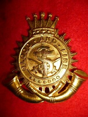 The Salvation Army Gilt Cap Badge