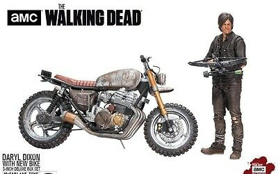 The Walking Dead - Daryl Dixon With New Bike - Action Figure Mcfarlane