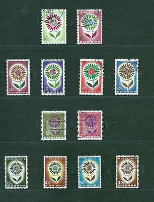 Europa CEPT & related 1964 Portugal and the others, 23 used sets